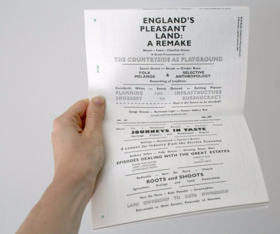 Image: Ruth Beale, England's Pleasant Land: A Remake, 2013, Arc Issue 17.1